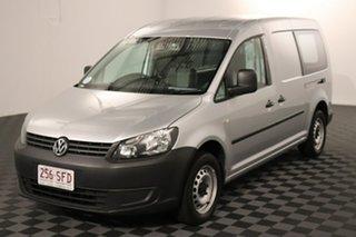 2011 Volkswagen Caddy 2KN MY11 TDI250 SWB DSG Silver 7 speed Automatic Van.