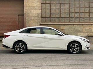 2020 Hyundai i30 CN7.V1 MY21 Active Polar White 6 Speed Automatic Sedan.