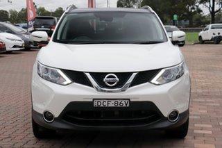 2015 Nissan Qashqai J11 TI White 1 Speed Constant Variable SUV