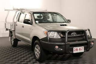 2010 Toyota Hilux KUN26R MY10 SR Silver 5 speed Manual Cab Chassis.