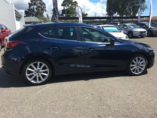 2017 Mazda 3 BN5438 SP25 SKYACTIV-Drive Blue 6 Speed Sports Automatic Hatchback.