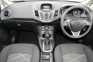 2014 Ford Fiesta WZ Ambiente White 6 Speed Automatic Hatchback