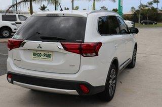 2016 Mitsubishi Outlander ZK MY16 XLS 4WD White 6 speed Automatic Wagon