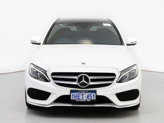 2017 Mercedes-Benz C300 205 MY17.5 White 9 Speed Automatic G-Tronic Sedan.