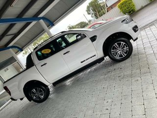 2020 Ford Ranger Wildtrak White Sports Automatic Double Cab Pick Up.