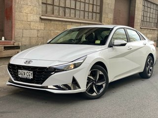 2020 Hyundai i30 CN7.V1 MY21 Active Polar White 6 Speed Automatic Sedan
