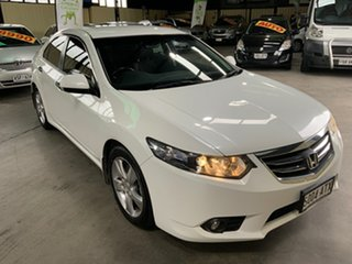 2012 Honda Accord 10 MY13 Euro White 5 Speed Automatic Sedan.