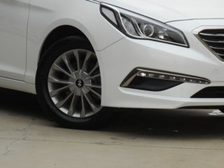 2015 Hyundai Sonata LF Active White 6 Speed Sports Automatic Sedan.