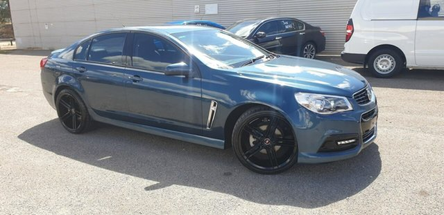 Used Holden Commodore VF MY14 SV6 Elizabeth, 2014 Holden Commodore VF MY14 SV6 Blue 6 Speed Sports Automatic Sedan