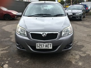 2009 Holden Barina TK MY10 Grey 5 Speed Manual Hatchback