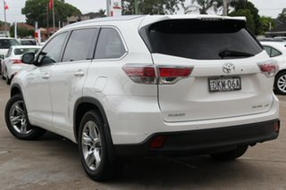 2016 Toyota Kluger GSU55R Grande AWD Crystal Pearl 6 Speed Sports Automatic Wagon.