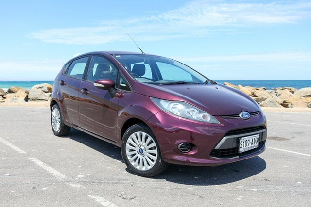Used Ford Fiesta WT CL Lonsdale, 2013 Ford Fiesta WT CL Purple 5 Speed Manual Hatchback