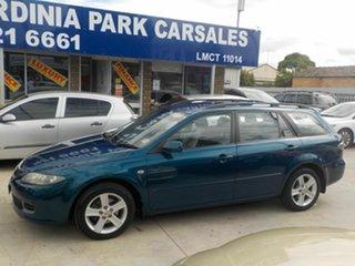2006 Mazda 6 GG 05 Upgrade Classic Blue 5 Speed Auto Activematic Wagon