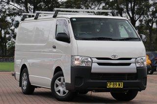 2018 Toyota HiAce KDH201R LWB White 4 Speed Automatic Van.