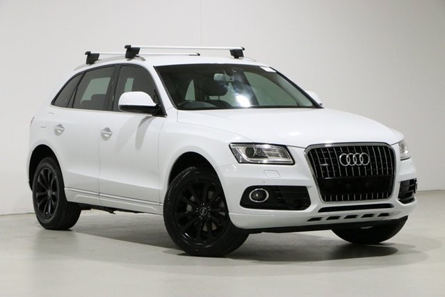 Used Audi Q5 8R MY16 Upgrade 2.0 TDI Quattro Bentley, 2016 Audi Q5 8R MY16 Upgrade 2.0 TDI Quattro White 7 Speed Auto Dual Clutch Wagon