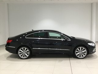 2010 Volkswagen Passat Type 3CC MY10 125TDI DSG CC Black 6 Speed Sports Automatic Dual Clutch Coupe