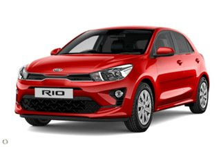 2020 Kia Rio YB MY21 S Red 6 Speed Automatic Hatchback