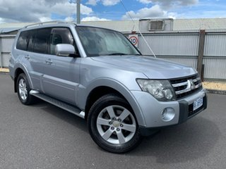 2008 Mitsubishi Pajero NS VR-X Silver 5 Speed Sports Automatic Wagon.