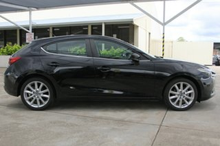 2017 Mazda 3 BN5438 SP25 SKYACTIV-Drive Black 6 Speed Sports Automatic Hatchback.