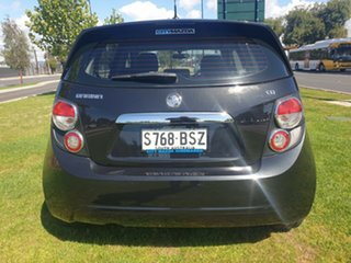 2014 Holden Barina TM MY14 CD Black 6 Speed Automatic Hatchback