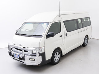 2017 Toyota HiAce KDH223R MY16 Commuter (12 Seats) White 4 Speed Automatic Bus