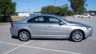 2008 Volvo S80 A Series MY08 AWD Silver 6 Speed Sports Automatic Sedan.