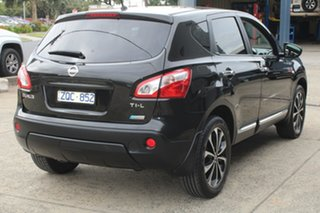 2013 Nissan Dualis J10 Series 3 TI-L (4x2) Black 6 Speed CVT Auto Sequential Wagon
