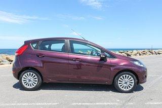 2013 Ford Fiesta WT CL Purple 5 Speed Manual Hatchback.