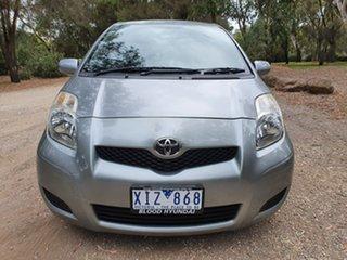 2009 Toyota Yaris NCP90R YR Grey Automatic Hatchback
