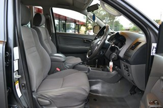 2013 Toyota Hilux KUN26R MY12 SR Double Cab Grey 4 Speed Automatic Utility.
