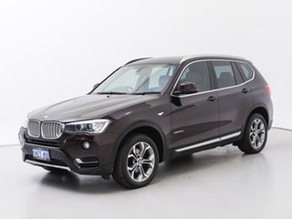 2015 BMW X3 F25 MY15 xDrive20d Brown 8 Speed Automatic Wagon.