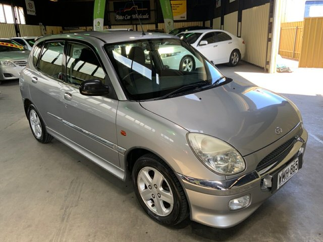 Used Daihatsu Sirion M101RS GTVi Hampstead Gardens, 2000 Daihatsu Sirion M101RS GTVi Silver 4 Speed Sports Automatic Hatchback
