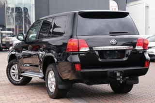 2014 Toyota Landcruiser VDJ200R MY13 GXL Black 6 Speed Sports Automatic SUV.