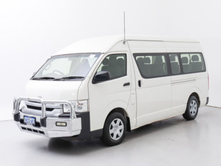 2017 Toyota HiAce KDH223R MY16 Commuter (12 Seats) White 4 Speed Automatic Bus.