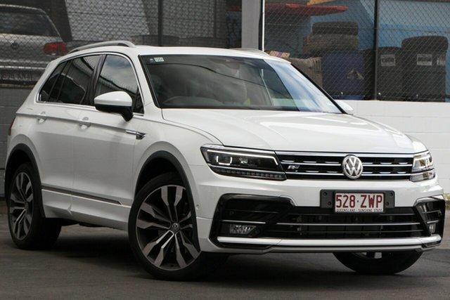 Demo Volkswagen Tiguan 5N MY20 162TSI DSG 4MOTION Highline Bundamba, 2019 Volkswagen Tiguan 5N MY20 162TSI DSG 4MOTION Highline Pure White 7 Speed