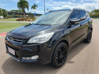 2014 Ford Kuga TF Ambiente AWD Panther Black 6 Speed Sports Automatic Wagon