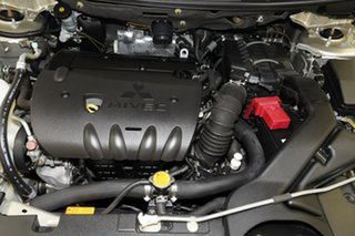 2008 Mitsubishi Lancer CJ MY08 ES Silver 6 Speed Constant Variable Sedan
