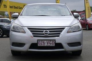 2014 Nissan Pulsar B17 ST Silver 1 Speed Constant Variable Sedan.