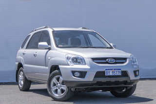 2010 Kia Sportage KM2 MY10 LX Silver 4 Speed Automatic Wagon