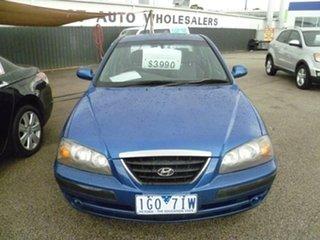 2006 Hyundai Elantra XD MY05 FX Blue 4 Speed Automatic Sedan.