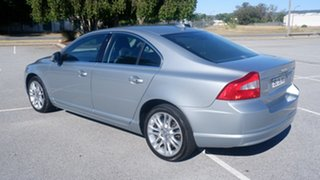 2008 Volvo S80 A Series MY08 AWD Silver 6 Speed Sports Automatic Sedan