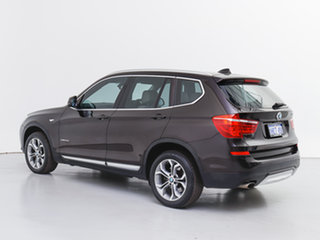 2015 BMW X3 F25 MY15 xDrive20d Brown 8 Speed Automatic Wagon