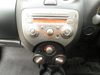 2014 Nissan Micra K13 MY13 ST Starlight Blue 4 Speed Automatic Hatchback
