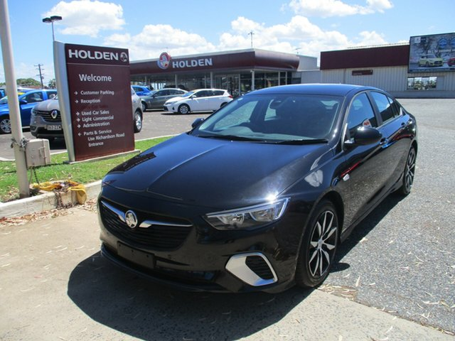 Used Holden Commodore ZB MY18 RS Liftback North Rockhampton, 2018 Holden Commodore ZB MY18 RS Liftback Black 9 Speed Sports Automatic Liftback