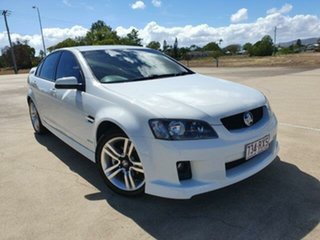 2010 Holden Commodore VE MY10 SV6 White 6 Speed Sports Automatic Sedan.