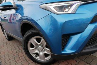 2017 Toyota RAV4 ASA44R GX AWD Blue 6 Speed Sports Automatic SUV.