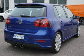2008 Volkswagen Golf V MY08 R32 DSG 4MOTION Blue 6 Speed Sports Automatic Dual Clutch Hatchback