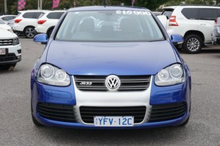 2008 Volkswagen Golf V MY08 R32 DSG 4MOTION Blue 6 Speed Sports Automatic Dual Clutch Hatchback.