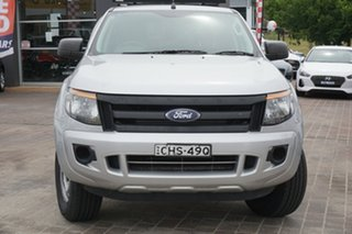 2012 Ford Ranger PX XL Hi-Rider Silver 6 Speed Sports Automatic Utility.