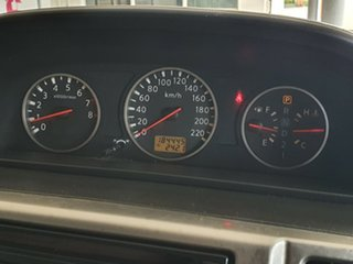 2007 Nissan X-Trail T30 II MY06 ST Black 4 Speed Automatic Wagon.